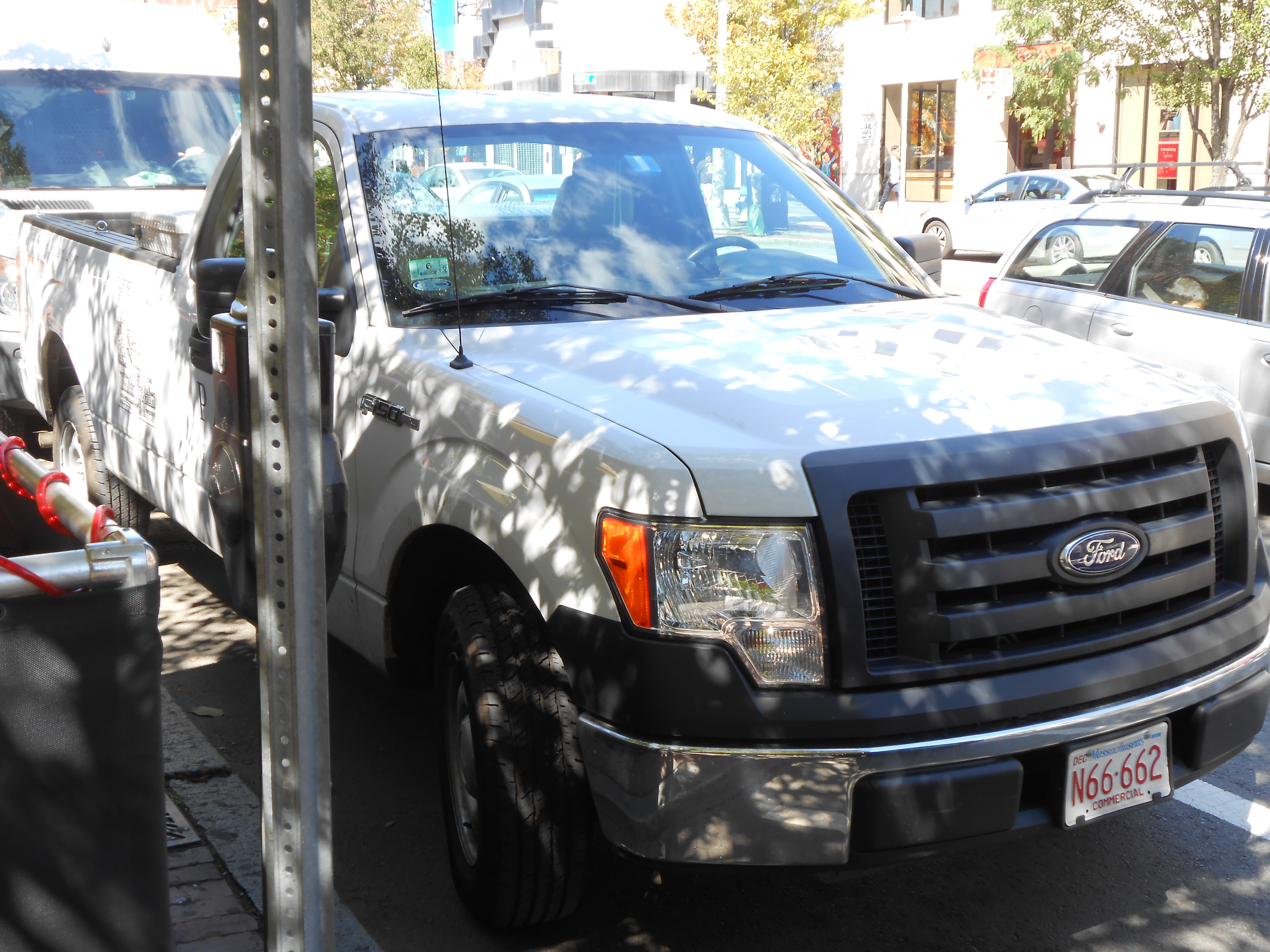 This U201cParterre Garden Servicesu201d Truck Has Been Parked Near The Sidewalk  Many Times In The Harvey Industries Parking Lot In Waltham, Parked With Its  License ...